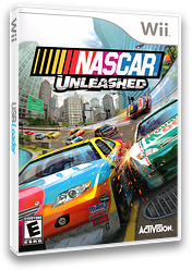 NASCAR Unleashed Wii cover (SNRE52)