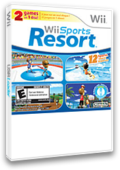 Wii Sports + Wii Sports Resort Wii cover (SP2E01)