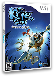 The Kore Gang: Outvasion From Inner Earth Wii cover (SP5E70)