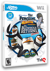 The Penguins of Madagascar: Dr. Blowhole Returns Again! Wii cover (SP8E78)
