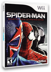 Spider-Man: Shattered Dimensions Wii cover (SPDE52)
