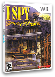 I SPY Spooky Mansion Wii cover (SPQE7T)