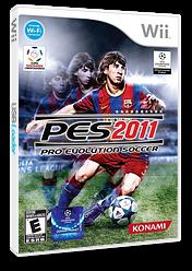 Pro Evolution Soccer 2011 Wii cover (SPVEA4)