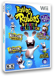 Raving Rabbids Party Collection Wii cover (SR5E41)