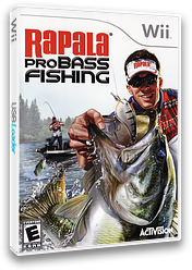Srfe52 rapala pro bass fishing for Wii u fishing game
