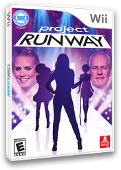 Project Runway Wii cover (SRNE70)