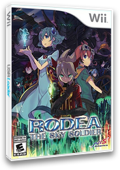 Rodea the Sky Soldier Wii cover (SROENS)