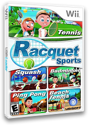 Racquet Sports Wii cover (SRQE41)