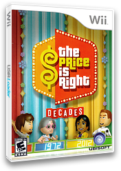 The Price Is Right Decades Wii cover (SRVE41)