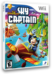 Kid Adventures: Sky Captain Wii cover (SSTEG9)