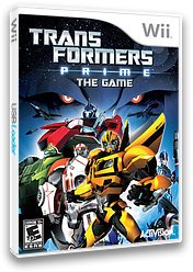 Transformers: Prime Wii cover (STFE52)