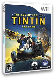 The Adventures of Tintin: The Game Wii cover (STNE41)