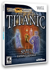 Hidden Mysteries: Titanic Wii cover (STTE52)
