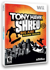 Tony Hawk: Shred Wii cover (STYE52)