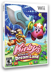 Kirby's Return to Dream Land Wii cover (SUKE01)