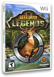 Deer Drive Legends Wii cover (SUNEYG)
