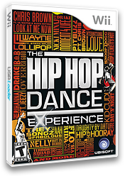 The Hip Hop Dance Experience Wii cover (SUOE41)