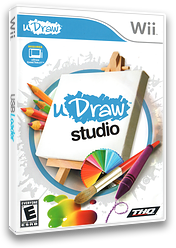 uDraw Studio Wii cover (SUWE78)