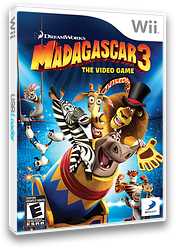 Madagascar 3: The Video Game Wii cover (SV3EG9)