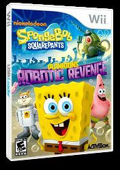 SpongeBob SquarePants: Plankton's Robotic Revenge Wii cover (SVDE52)