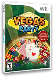 Vegas Party Wii cover (SVPESZ)