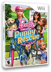 Barbie and Her Sisters: Puppy Rescue Wii cover (SVQEVZ)