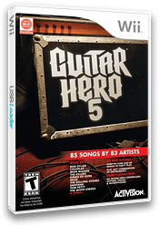 Guitar Hero 5 Wii cover (SXEE52)