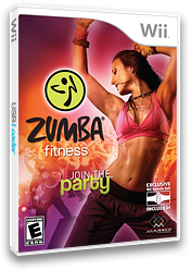 Zumba Fitness Wii cover (SZ5E5G)