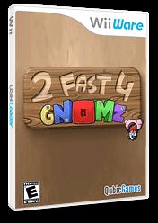 2 Fast 4 Gnomz WiiWare cover (W24E)