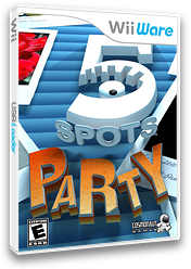 5 Spots Party WiiWare cover (W54E)