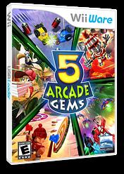 5 Arcade Gems WiiWare cover (W5AE)