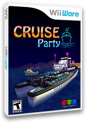 Cruise Party WiiWare cover (W9UE)