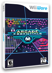 Arcade Essentials WiiWare cover (WACE)