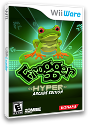 Frogger: Hyper Arcade Edition WiiWare cover (WFQE)