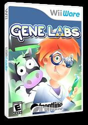 Gene Labs WiiWare cover (WGLE)