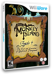 Tales of Monkey Island: Chapter 4 - The Trial and Execution of Guybrush Threepwood WiiWare cover (WIYE)