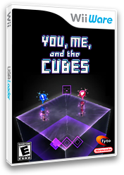 You, Me, and the Cubes WiiWare cover (WKBE)