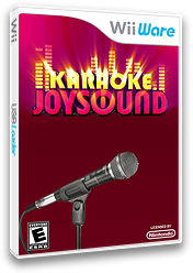 Karaoke Joysound WiiWare cover (WKJE)