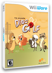 HB Arcade Disc Golf WiiWare cover (WL5E)