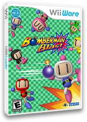 Bomberman Blast WiiWare cover (WM8E)