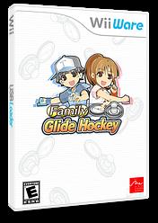 Family Glide Hockey WiiWare cover (WOAE)