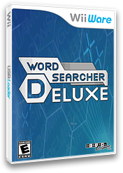 Word Searcher Deluxe WiiWare cover (WOPE)