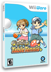 Family Table Tennis WiiWare cover (WPPE)