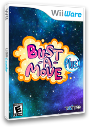 Bust-A-Move Plus! WiiWare cover (WPUE)