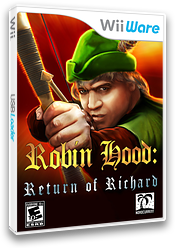 Robin Hood: The Return of Richard WiiWare cover (WRRE)