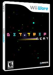 Bit.Trip Beat WiiWare cover (WTRE)