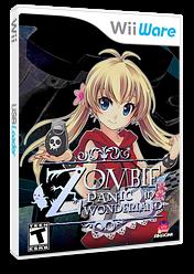 Zombie Panic in Wonderland WiiWare cover (WZPE)