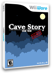Cave Story (Demo) WiiWare cover (XH2E)