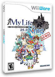 Final Fantasy Crystal Chronicles: My Life as a Darklord (Demo) WiiWare cover (XHCE)
