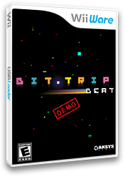 BIT.TRIP BEAT (Demo) WiiWare cover (XHEE)